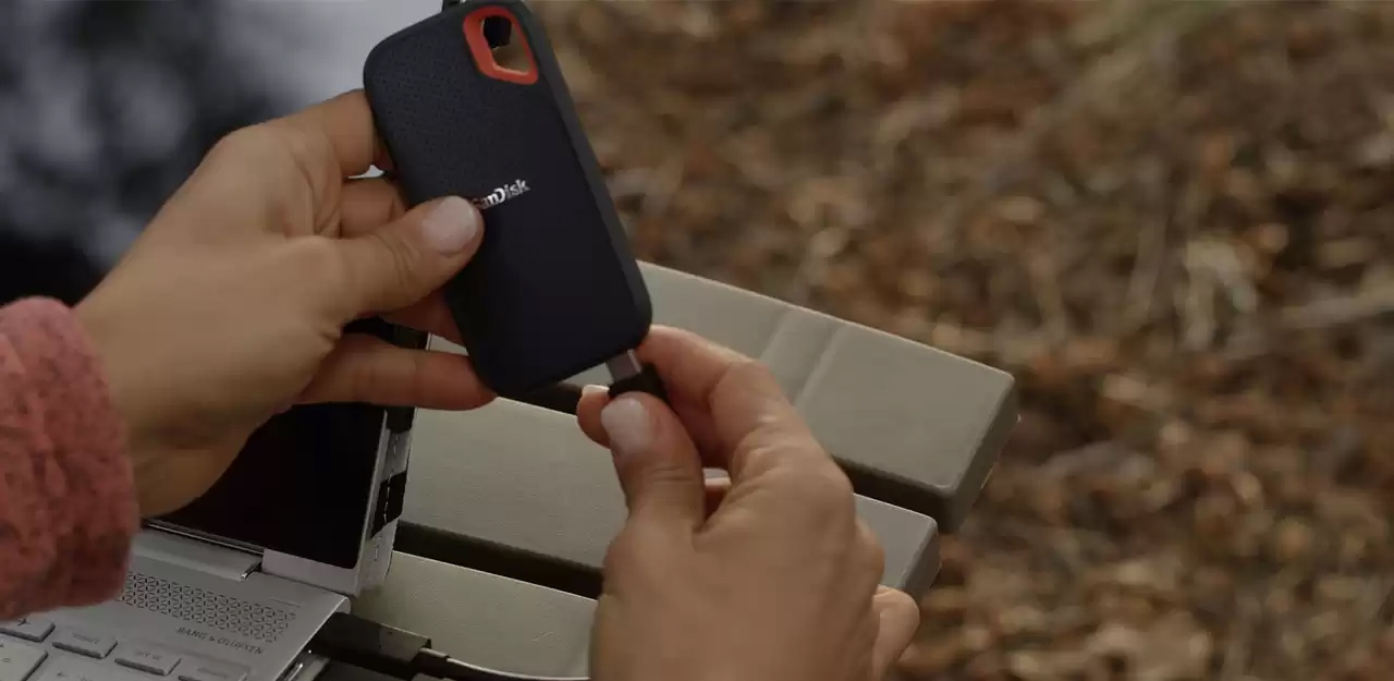 #SANDISK SSD EXTREME PORTABLE 500GB (1050 MB/s)