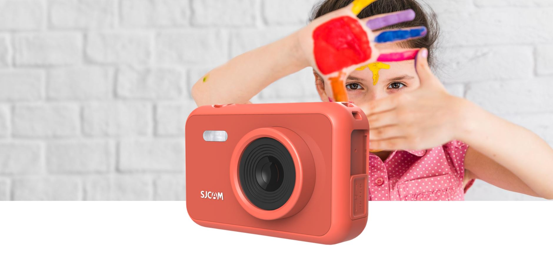 #Kamera SJCAM FUN CAM RED