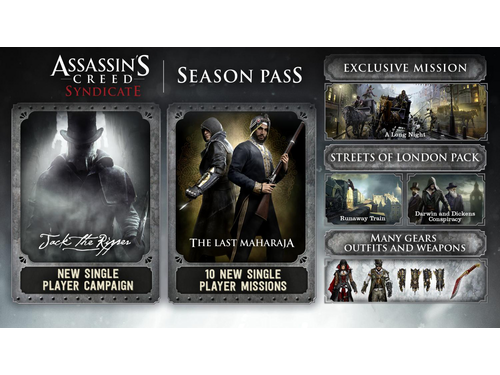 Gra wersja cyfrowa Assassin's Creed® Syndicate - Season Pass