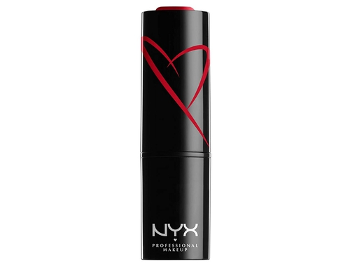 NYX SHOUT LOUD SATIN LIPSTICK - RED HAUTE