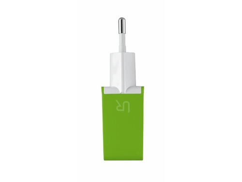 Dual Smartphone Wall Charger limonkowy - 20150