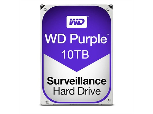 "Dysk HDD 10 TB WD Purple Western Digital Purple 3.5"" SATA III 256 MB WD100PURZ"
