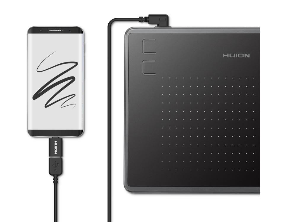 #Tablet graficzny Huion H430P