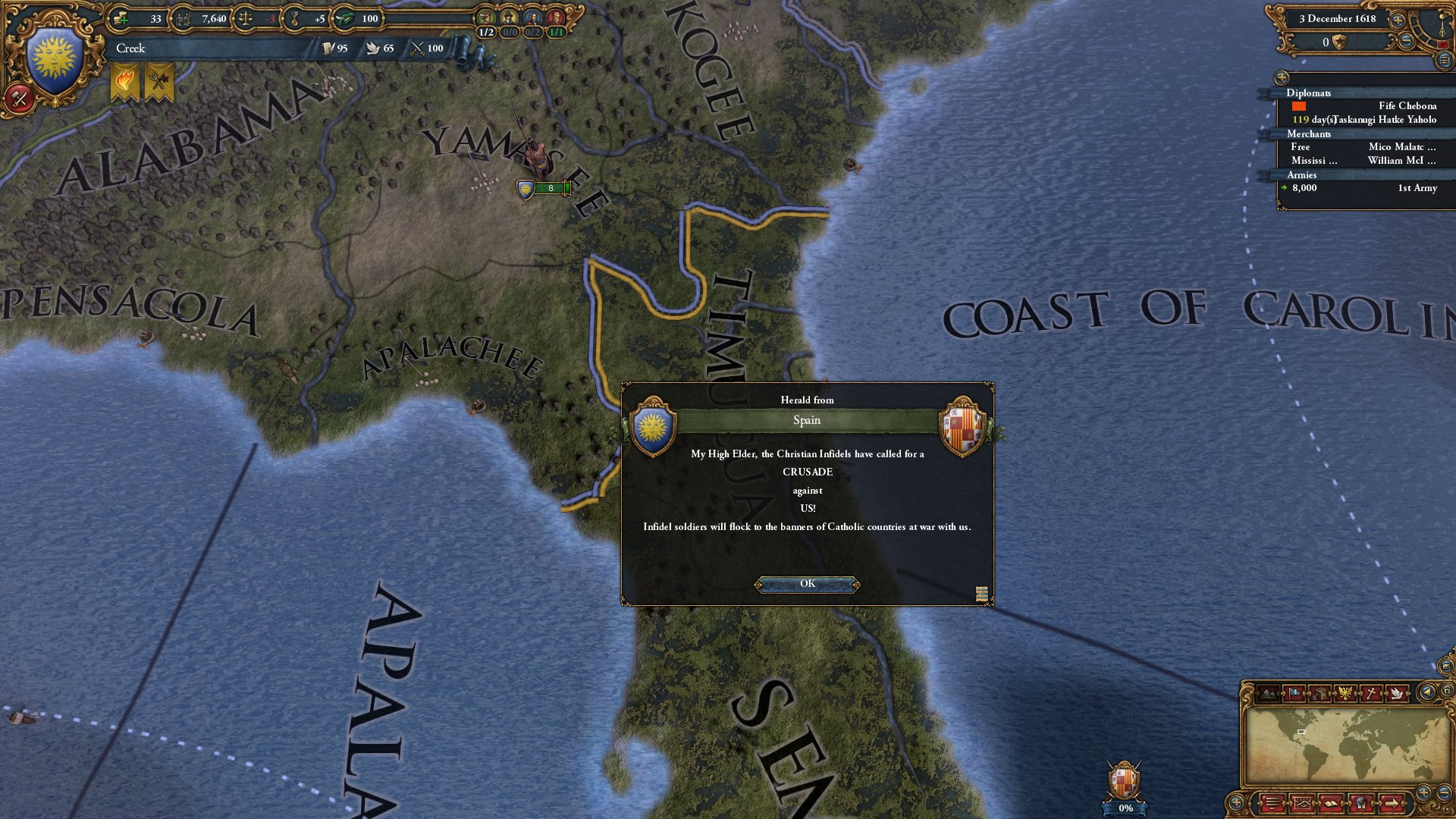 #Europa Universalis IV: Conquest of Paradise