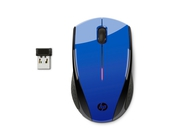 HP Wireless Mouse X3000 niebieski metalik N4G63AA