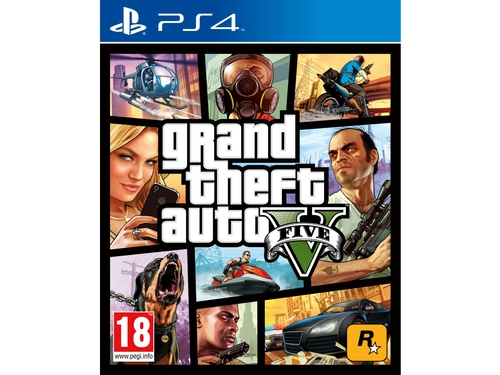 Gra PS4 NO NAME wersja BOX Grand Theft Auto V 5026555416986