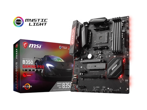 Płyta główna MSI CARBON B350 GAMING PRO CARBON DDR4 AM4 ATX CrossFire RAID SATA