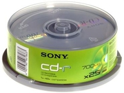 CD-R Sony 700MB 25szt.
