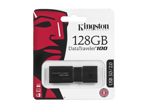 Pendrive Kingston DT100G3 128GB - DT100G3/128GB
