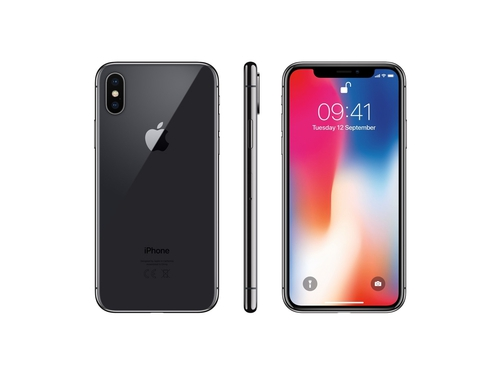 Smartfon Apple iPhone X 64GB Space Gray WiFi Bluetooth NFC LTE GPS 64GB iOS 11 kolor szary Space Gray