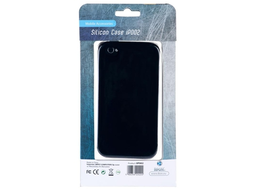 Silikonowy Pokrowiec iPhone I-box Silicon Case 4&4S - IIP002