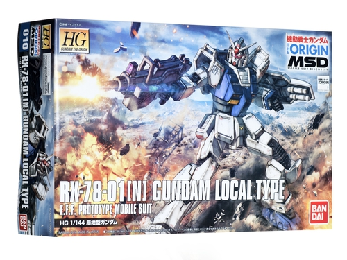 HG 1/144 RX-78 01[N] GUNDAM LOCAL TYPE