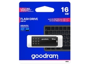 GOODRAM FLASHDRIVE 16GB UME3 USB 3.0 BLACK - UME3-0160K0R11