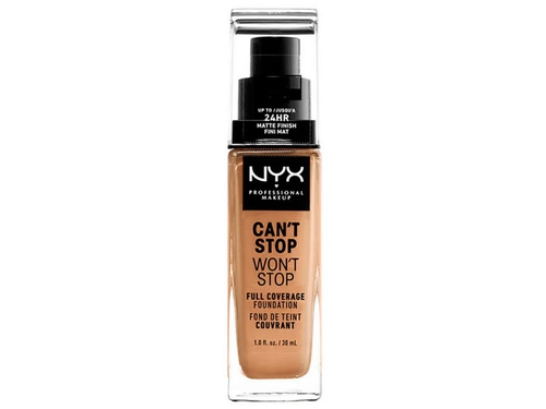 NYX Can't Stop Won't Stop Foundation-GOLDEN