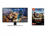 "Monitor Samsung UHD 28"" 4k LU28E590DS/EN +Gra PC Dying Light: The Following rozszerzenie (kod STEAM)"