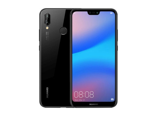 Smartfon Huawei P20 Lite Bluetooth WiFi NFC GPS LTE DualSIM 64GB Android 8.0 kolor czarny Midnight Black