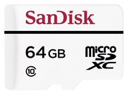 SANDISK microSDXC 64GB HIGH ENDURANCE + adapter - SDSDQQ-064G-G46A