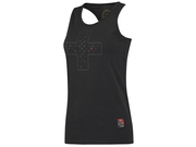 LADY TOP THORNFIT CROSS Black r. XS