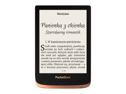 "Czytnik E-book 6"" PocketBook PB 632 Touch HD 3 PB632-K-WW"