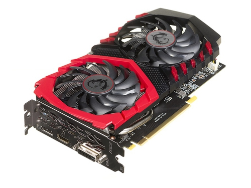 Karta graficzna MSI GeForce® GTX 1050 Ti 4098MB DDR5/128b GAMING X 4G - GTX 1050 Ti GAMING X 4G