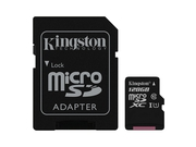 KINGSTON MICRO CANVAS SELECT UHS-I SDCS/128GB. - SDCS/128GBSP