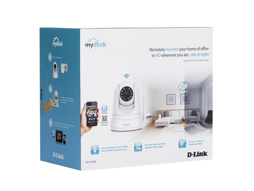 D-link DCS-5030L HD P/TWi-Fi D/N Camera