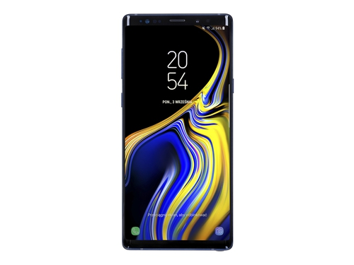 Smartfon Samsung Galaxy Note 9 128GB Blue Bluetooth WiFi NFC GPS LTE Galileo 128GB Android 8.1 Ocean Blue