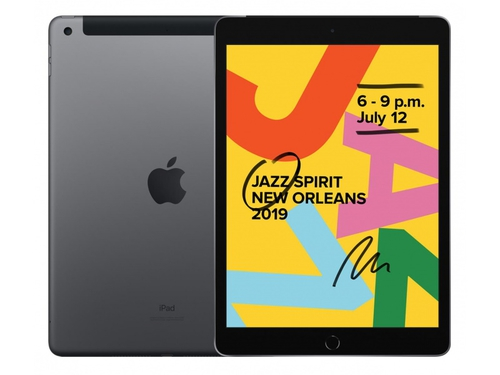 Tablet Apple iPad 128GB + LTE Space Gray MW6E2FD/A 10.2'' 128GB Bluetooth WiFi GPS LTE Space Gray