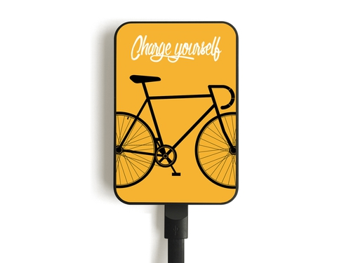 Power Bank SMARTOOOLS MC10BIKE-YELLOW 10000mAh microUSB USB