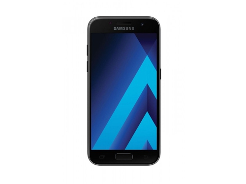 Smartfon Samsung Galaxy A3 (2017) LTE  + G Data Mobilesecurity 2 Black Sky - SM-A320FZKNXEO