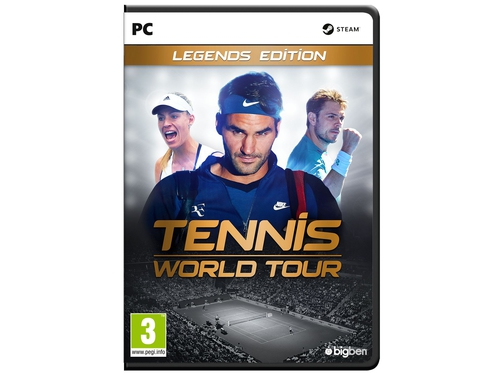Gra wersja cyfrowa Tennis World Tour Legends Edition
