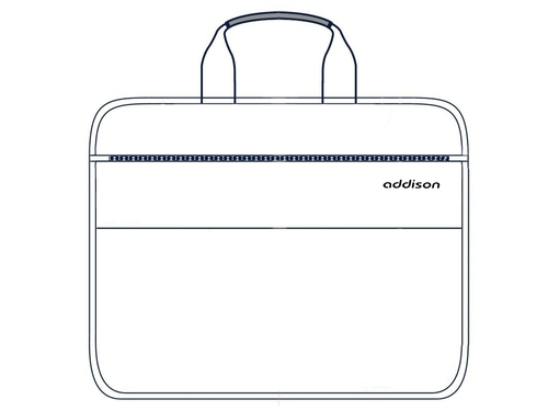"Torba na laptopa 15,6"" Addison MIDDLEBURY 15 307015 kolor stalowy"
