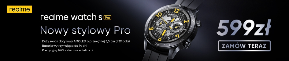 Realme Watch S Pro Black