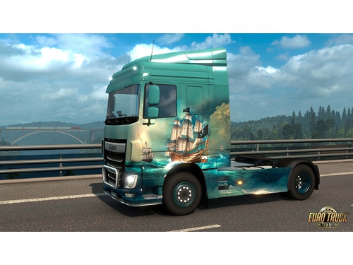 Gra wersja cyfrowa DLC Euro Truck Simulator 2 – Pirate Paint Jobs Pack