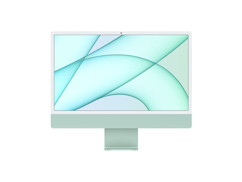 Apple 24-inch iMac with Retina 4.5K display: Apple M1 chip with 8 core CPU and 7 core GPU, 256GB - Green - MJV83ZE/A