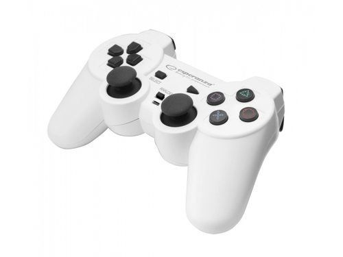 ESPERANZA GAMEPAD PC/PS3/PS2 USB CORSAIR BIAŁO/CZA - EGG106W