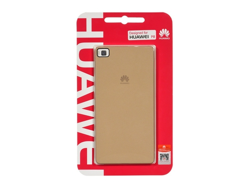 Etui HUAWEI (PC) (0.8mm) do P8 złoty - 51990824