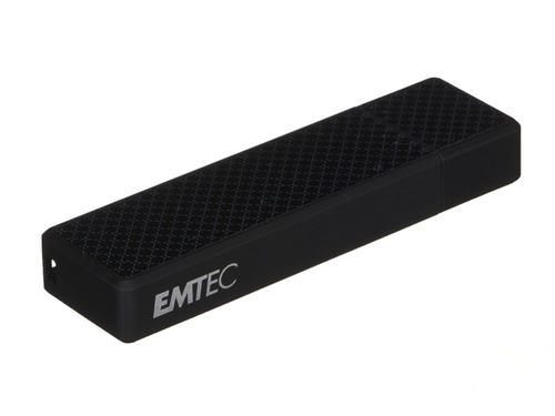 Pendrive EMTEC Speed'In S600 128GB USB 3.0 czarny - ECMMD128GS600