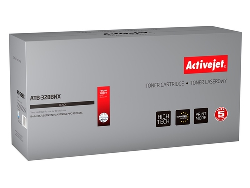 Toner Activejet ATB-328BNX do drukarki Brother, Zamiennik Brother TN-328BK; Supreme; 8000 stron; czarny.