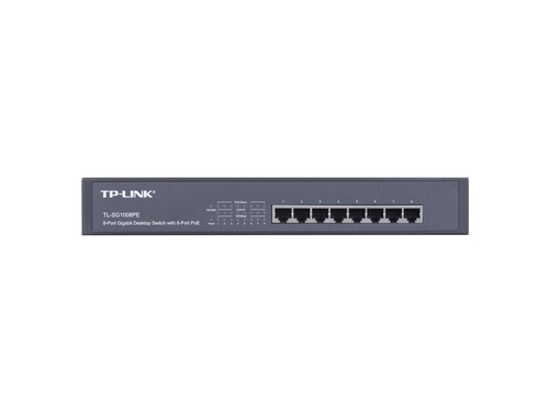Switch TP-Link TL-SG1008PE 8x 10/100/1000Mbps