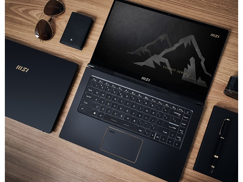 """MSI Summit E14 A11SCST-073PL i7-1185G7 14"""" FHD Finger Touch panel 16GB LPDDR4 1TB NVMe PCIe Gen4x4 SSD GTX1650 Ti Max-Q 4GB Windows10 Pro without ODD"""