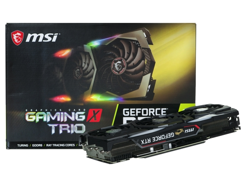 Karta graficzna MSI RTX 2080 SUPER GAMING X TRIO - GeForce RTX 2080 SUPER GAMING X