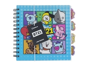 PP BT21 NOTEBOOK WITH DIVIDERS