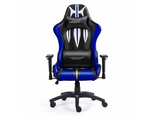 Warrior Chairs fotel gam. Sword black/blue - 5903293761106