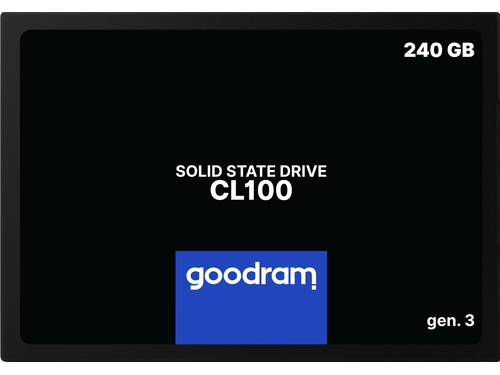 SSD GOODRAM CL100 Gen. 3 240GB SATA III 2,5 RETAIL - SSDPR-CL100-240-G3