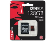 Karta pamięci Kingston micro SD 128GB UHS Class U3 +adapter - SDCA3/128GB