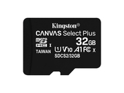 KINGSTON microSDHC 32GB Canvas Select Plus 100R - SDCS2/32GBSP