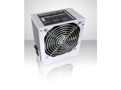 Zasilacz Modecom Feel 400 120mm FAN - ZAS-FEEL-00-400-ATX-PFC