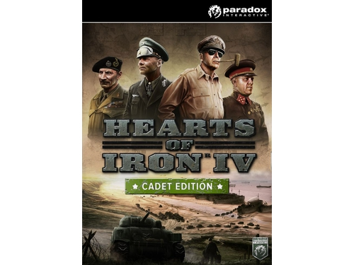Gra PC Mac OSX Linux Hearts of Iron IV: Cadet Edition wersja cyfrowa