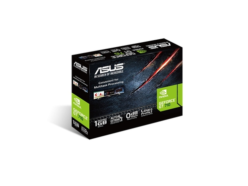 ASUS GeForce GT 710, 1 GB GDDR5 , DVI / HDMI - GT710-SL-1GD5-BRK